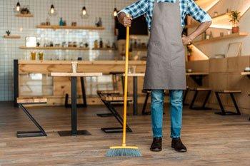 Уборка кафе и ресторанов